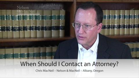 Embedded thumbnail for When should I contact an attorney?